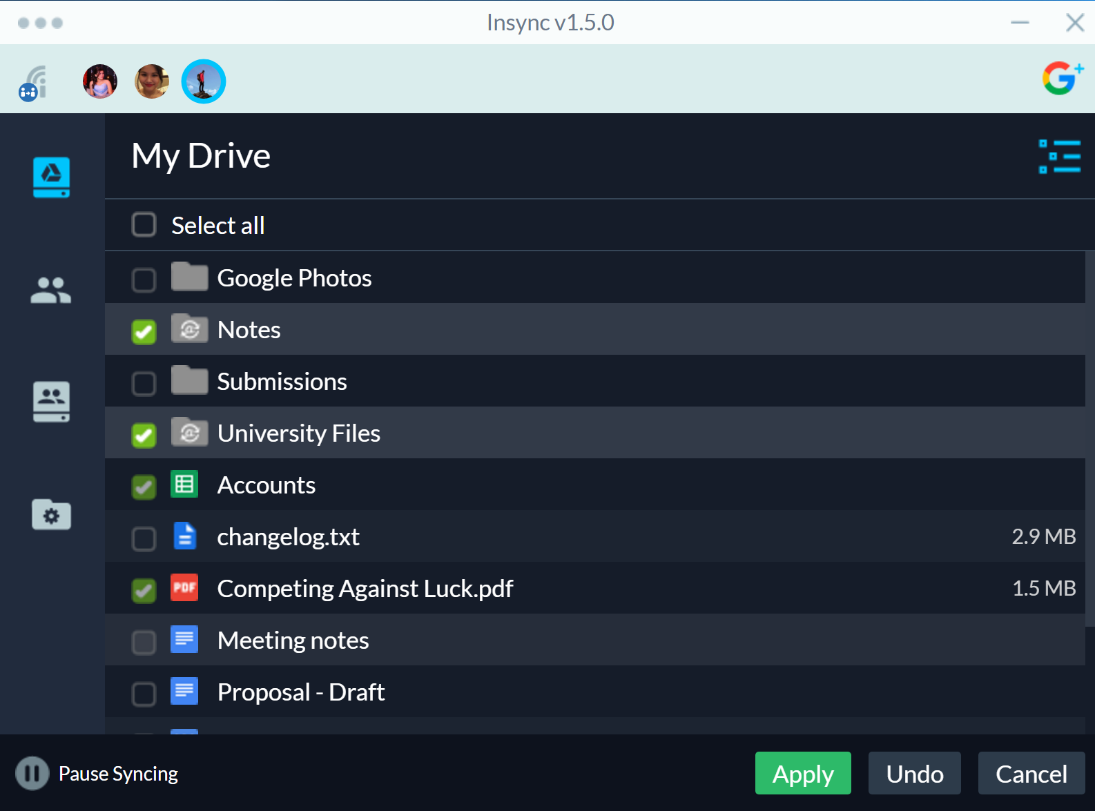 Take your Google Drive Offline on Windows, Linux & macOS - Insync