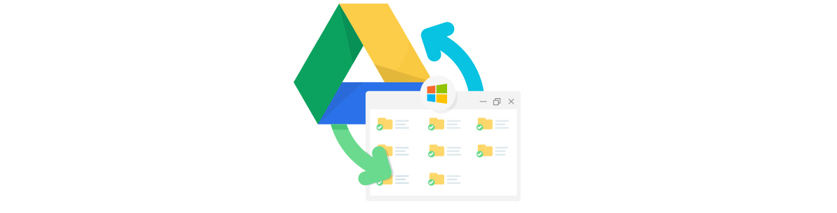 Add your Google Drive to Windows 10 Explorer